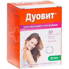 ДУОВИТ для женшин табл. по №30